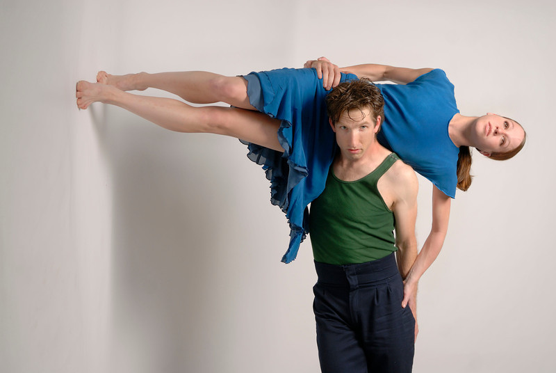 Sarah Perrett and Damian Highfield, GroundWorks Dance Theater