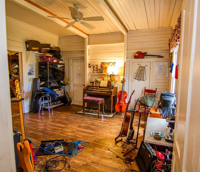 A musician's dream house...