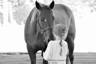 Grace Follows Horse Camp 2015