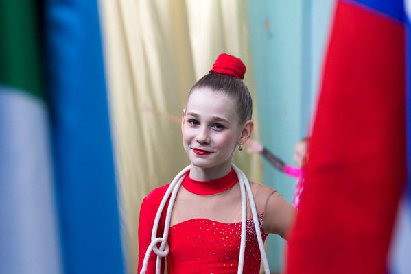 Соревнования по художественной гимнастике. 27 марта