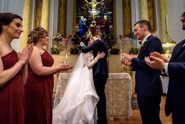 Amanda & Adam's Wedding at Cescaphe Ball Room in Philadelphia