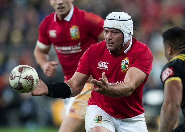 Rory Best (c) during game 8 of the British and Irish Lions 2017 Tour of New Zealand,The match between  Hurricanes and British and Irish Lions, Westpac Stadium, Wellington, Tuesday 27th June 2017 (Photo by Kevin Booth Steve Haag Sports)  Images for social media must have consent from Steve Haag