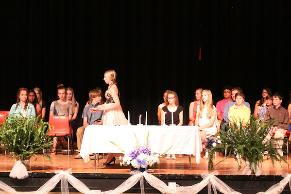 Llano Junior High NHS Induction