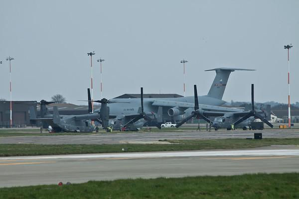 RAF Mildenhall : 28th March