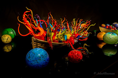 Chihuly Art Glass Exhibit