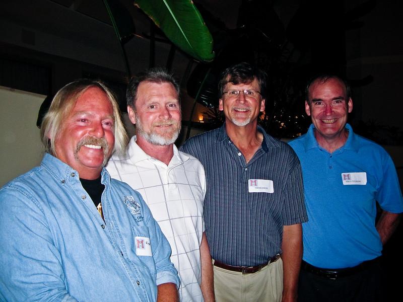 Virgil Hibbs, Dennis Naleppa, Tim Hudson, Mike Culhane