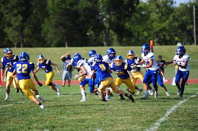 IHS jv football-wellsville