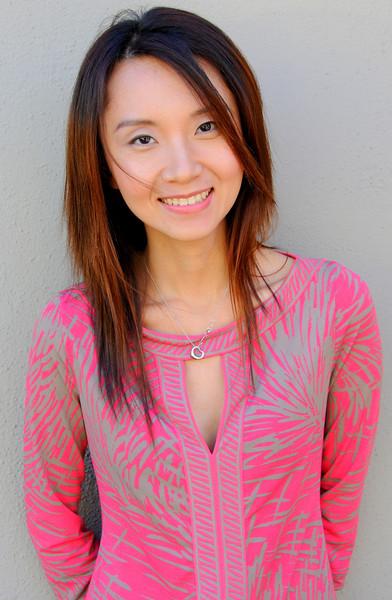 beautiful woman model red dress 049.090..