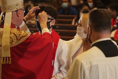 Confirmation at St. Aedan's - June 5, 2021