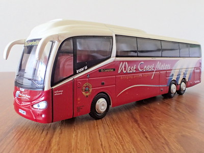 Scottish model bus photographs