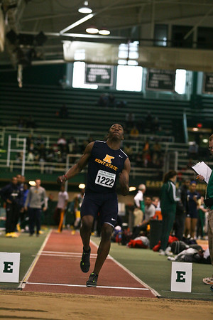 Men's Long Jump - 2013 MAC Indoor Meet