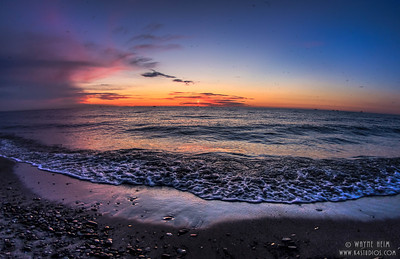 Bubbles at Sunset   Photography by Wayne Heim