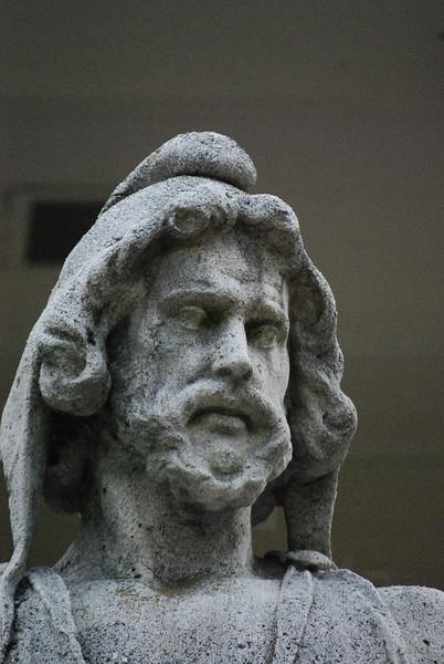 6-27-2009 Telfair Statues