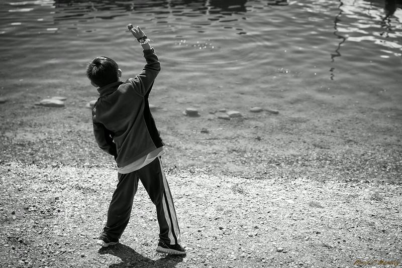Rock Throwing
