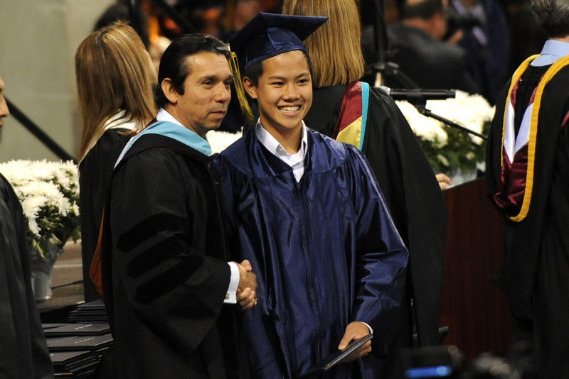 Billy graduates from Stony Point High School with the following distinctions: Texas Schoolar Candidate Distinguished Candidate 4.0 GPA Recipient