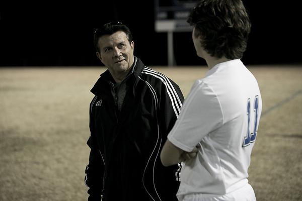 Varsity Soccer vs Dallas Covenant 1.26.17