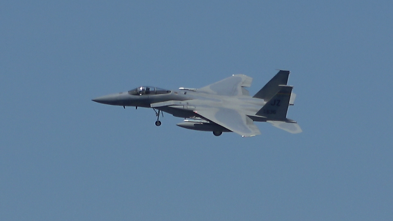 5-2-18...ten F-15s returning to base incl. two JZ Bayou Militia and SLAM jets...shot Hampton Pond beach