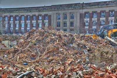 4-12-15 North Hall - Demolition