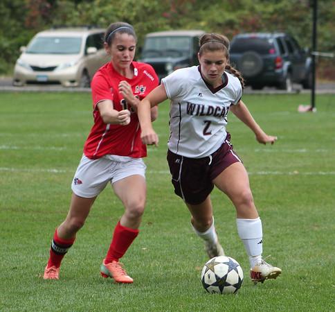 Varsity Girls Soccer vs New Fairfield - 10/07/2014