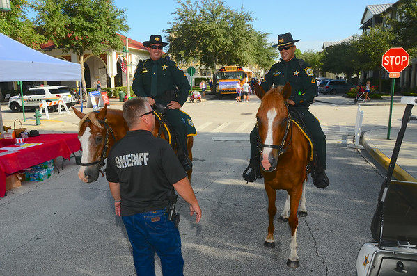 Osceola County Sheriff Dept Protecting Celebration