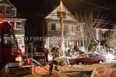 Hough Ave. Fire (Bridgeport, CT) 12/27/10