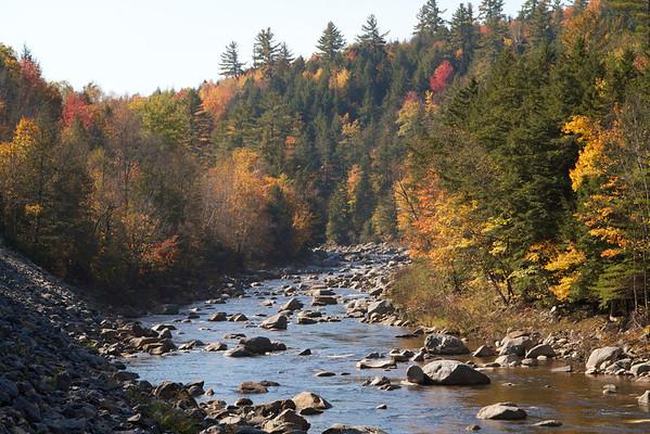 Canoe trip Oct 2012