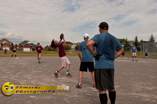 Maroons - Durham East Softball - July 08, 2012