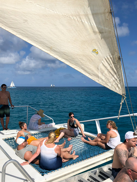 Catamaran cruise in Aruba