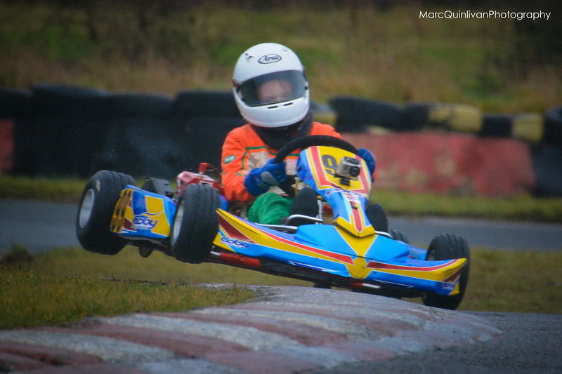 Leinster Karting Club - 2013 Winter Championship - Round 4 - Alyx Coby