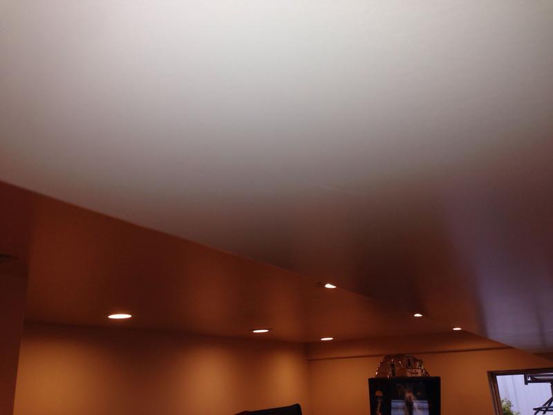 damaged ceiling - basement