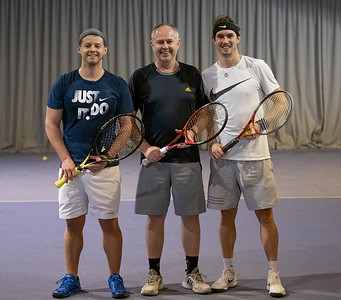 Tennis Exhibition in Sankt Wolfgang 2019 October