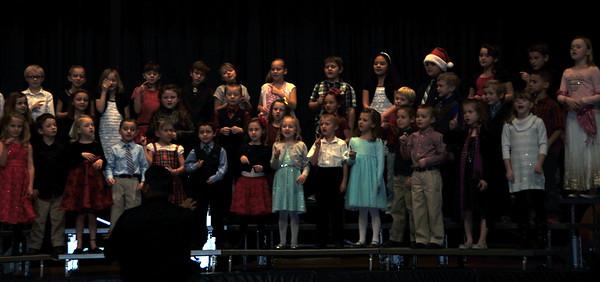 Caliche Christmas Program 2015