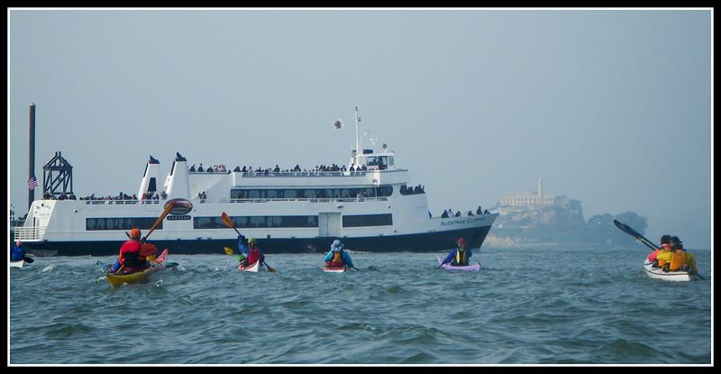 Ferry traffic