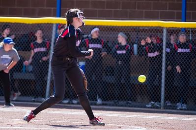 Weber at Fremont Softball 05-01-18