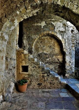 Mystras, the Medieval Castletown