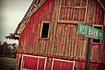 Graft Family Big Red Barn, Rolling Fork, Mississippi