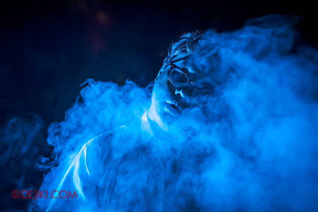 Halloween Horror Nights 6 - Suicide Forest scare zone / Vaporise