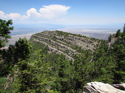 Sandia Mtns. - Switchback-Survey-Ellis Trails Hike  8-3-20