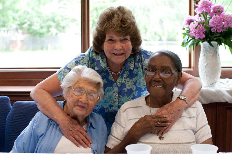Lovely ladies at the Senior dinner.