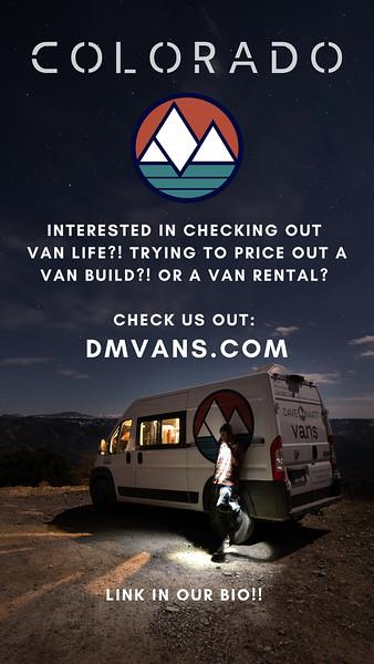 Colorado Van Trip | Custom Story Assets