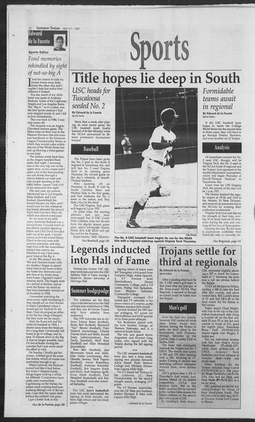 Summer Trojan, Vol. 131, No. 2, May 21, 1997