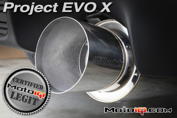 Project Evo X GSR- Testing the Greddy RS  Catback Exhaust System
