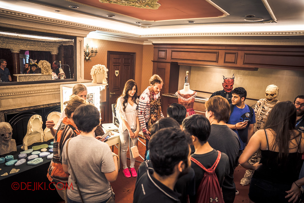 Halloween Horror Nights 6 - RIP Tour review / Behind the Screams tour make-up