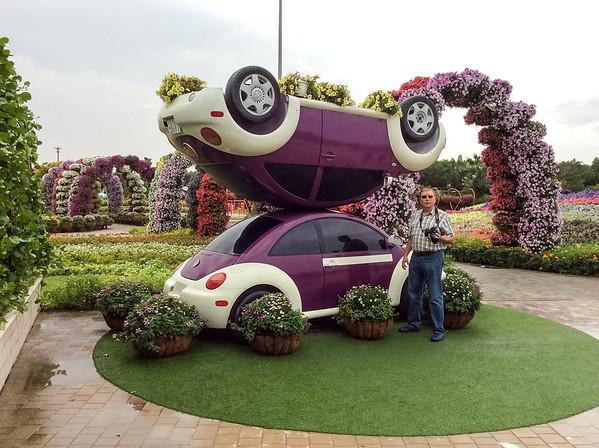 Miracle Garden, Dubai - January, 2016