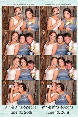 Spears Wedding 6-16-18