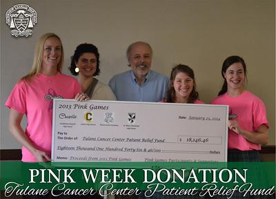 Pink Week Check Presentation