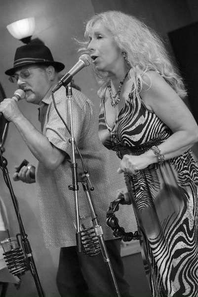 Dee Miller & Paul Mejia-The Dee Miller Band- The School II Bistro & Wine Bar