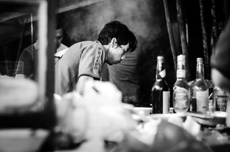 Busy at Sari Bintaro