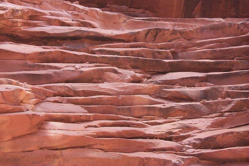 Pattern of North Canyon Rock   (May 27, 1999, 12:13pm)