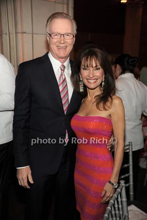 Chuck Scarborough, Susan Lucci   photo  by Rob Rich © 2014 robwayne1@aol.com 516-676-3939
